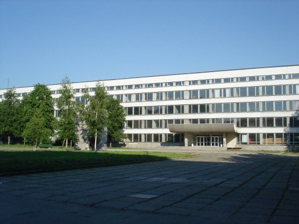SPbSU Faculty of Physics building in Peterhof